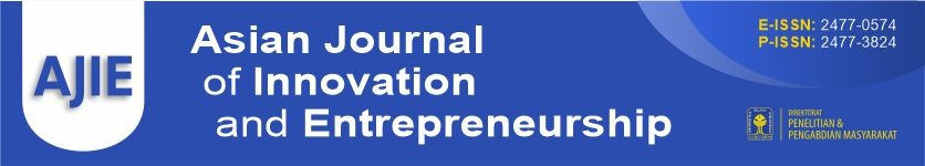 AJIE-Asian Journal of Innovation and Entrepreneurship
