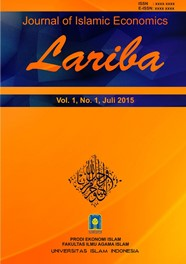Journal of Islamic Economics Lariba