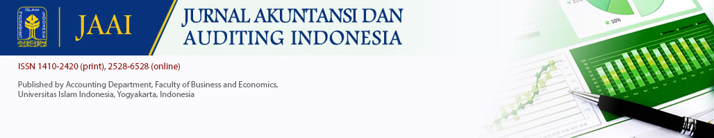 Jurnal Akuntansi dan Auditing Indonesia