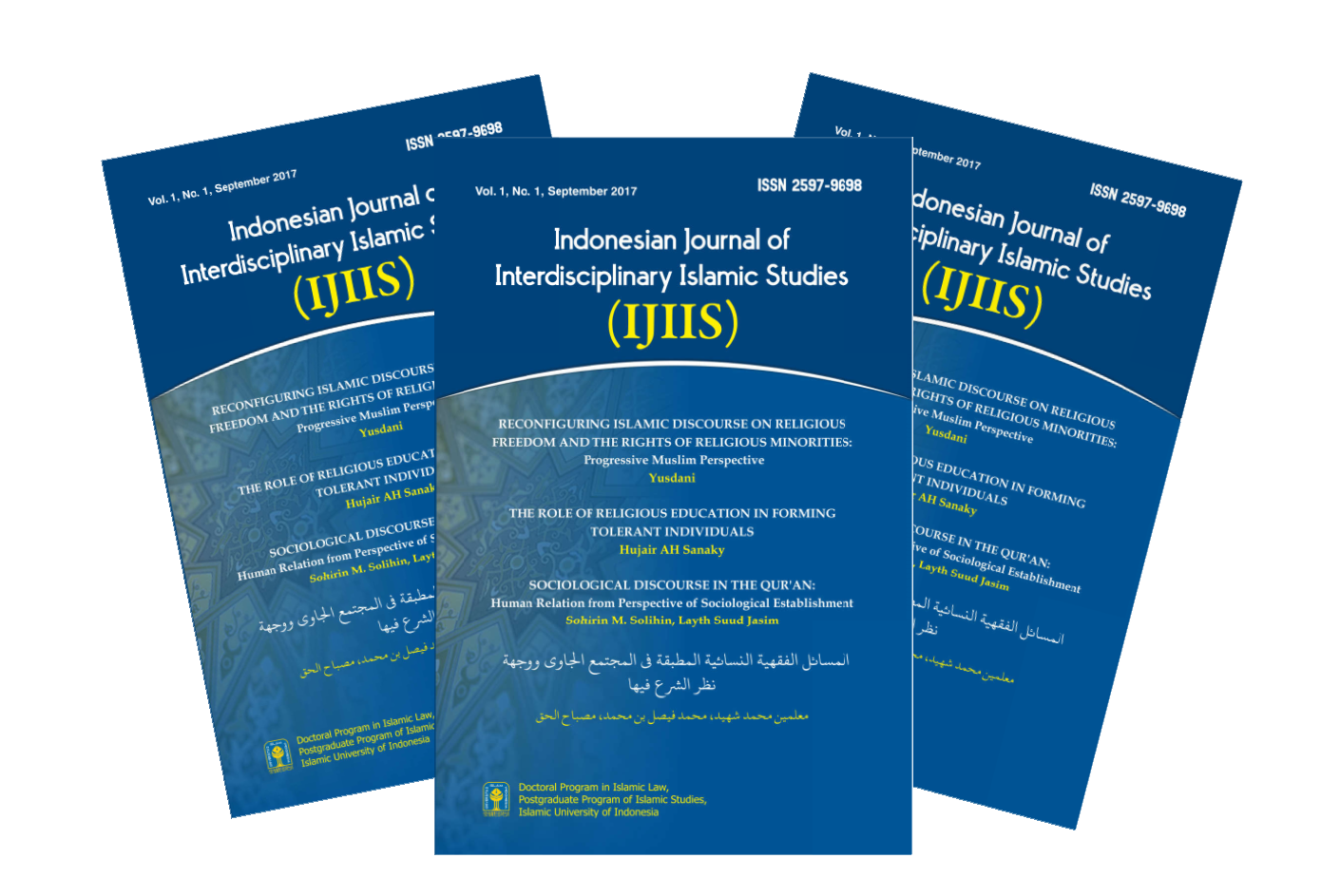 INDONESIAN JOURNAL OF INTERDISCIPLINARY ISLAMIC STUDIES